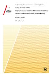 The prevalence and incidence of diabetes mellitus among Sami