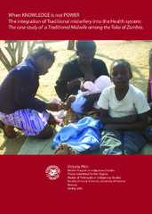 The integration of Traditional midwifery into the Health