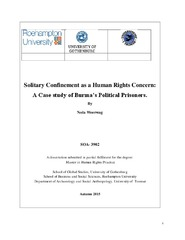 thesis on human rights violations